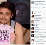 James Franco ist in einsamen Stunden für euch da.