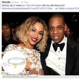 Jay-Z schenkt seiner Liebsten Beyoncé Knowles ein Armband für knapp 1800 Euro.