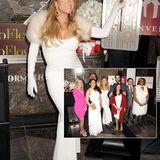 Mariah Carey beleuchtet das Empire State Building und überrascht Paare die am Valentinstag vor den Traualtar treten.
