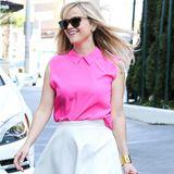 31. Juli 2014: Reese Witherspoon ist auf dem Weg in die Sky Bar in West Holylwood.