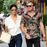 "8. Juli 2014: Lily Aldridge und ""Kings of Leon""-Sänger Caleb Followill gehen Hand in Hand durch das New Yorker East Village."