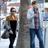 4. März 2014: Die frisch verlobten Mila Kunis und Ashton Kutcher zeigen sich in der Öffentlichkeit. Wann läuten die Hochzeitsglocken?