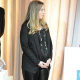 12. Juni 2014: Die schwangere Chelsea Clinton besucht eine Wohltätigkeitsgala in New York.