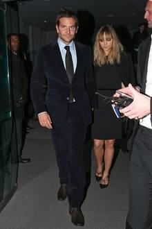 Bradley Cooper holt seine Freundin und Topmodel Suki Waterhouse nach der Show von Tom Ford ab.