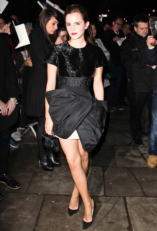Emma Watson in Giambattista Valli