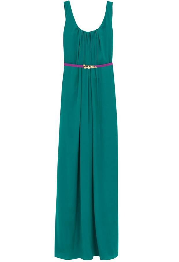 Maximal stylish ist das Kleid von Hoss Intropia, ca. 300 Euro