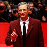 "Jeff Goldblum kommt zur Premiere des Films ""The Grand Budapest Hotel""."