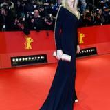 Berlinale 2014: Veronica Ferres wird auf der Berlinale-Party keinen Alkohol trinken. Ihr Fitness-Rezept für solche Anlässe hat sie im vergangenen Jahr Gala verraten.