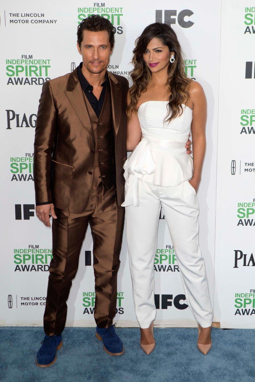 Matthew McConaughey und seine Frau Camila Alves