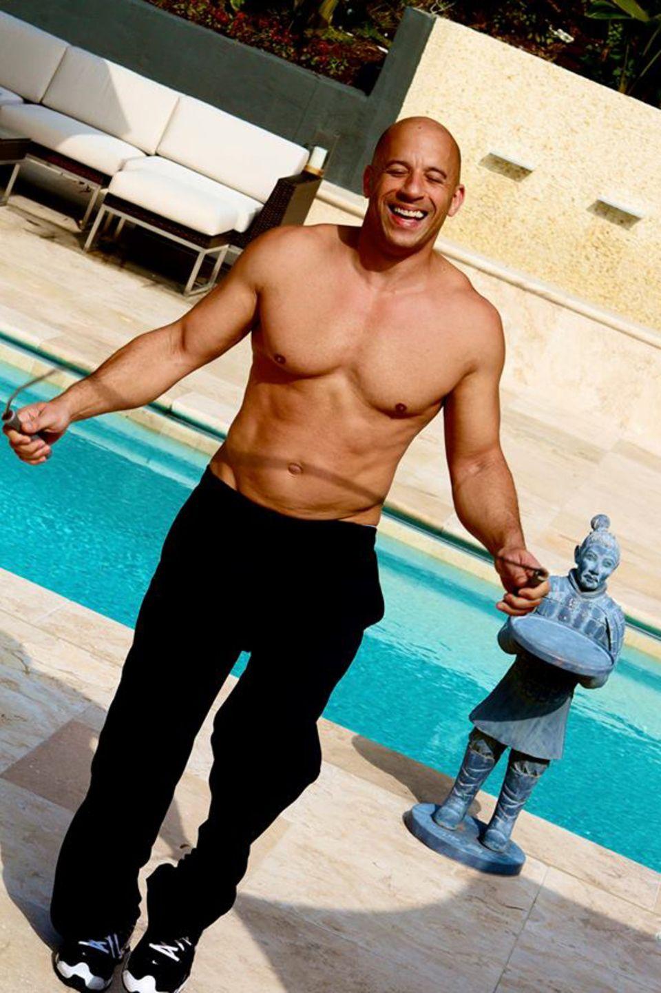 Platz 6: Vin Diesel  Der Action-Schauspieler kann sich über gut 70 Millionen Anhänger freuen.