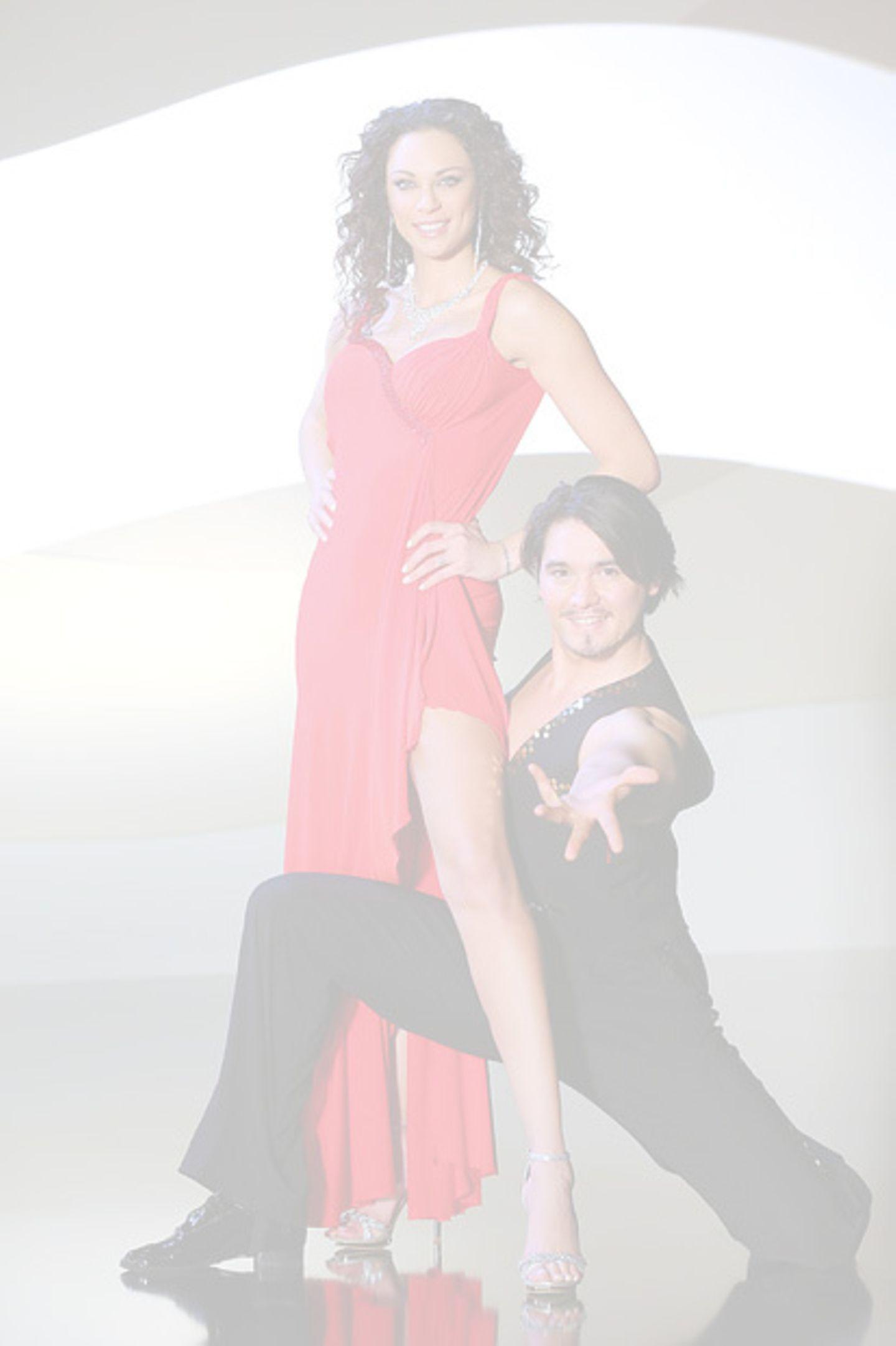 Lilly Becker tanzt mit Erich Klann.  Ausgeschieden in Show 6