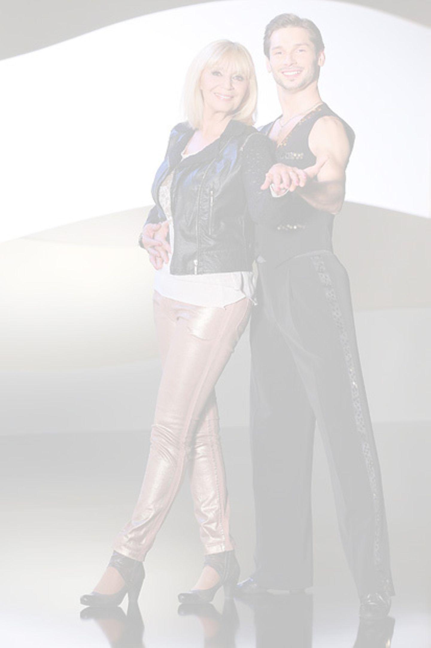 Der Kompagnon von Sängerin Cindy Berger heißt Marius Lepure.  Ausgeschieden in Show 2