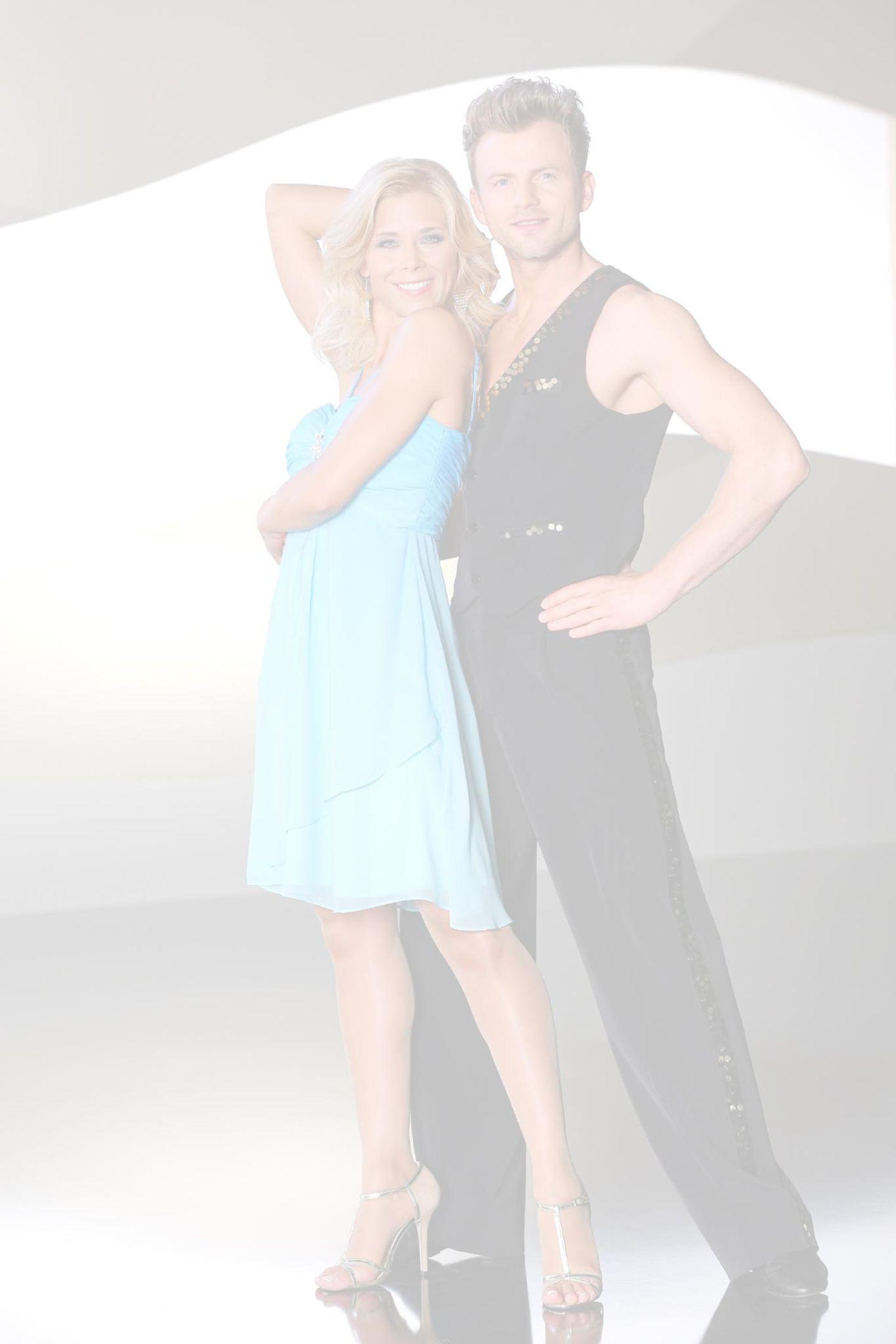 Tanja Szewczenko tanzt mit Willi Gabalier.  Freuen sich über den zweiten Platz