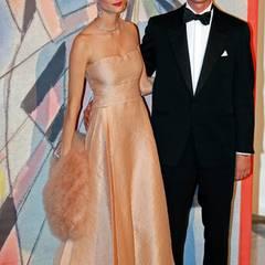 Pierre Casiraghi kommt mit seiner Freundin Beatrice Borromeo.