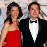 Der französische Schauspieler Guillaume Gallienne und seine Frau Amandine