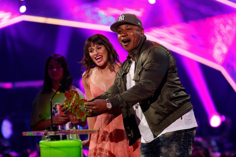 Lea Michele und LL Cool J