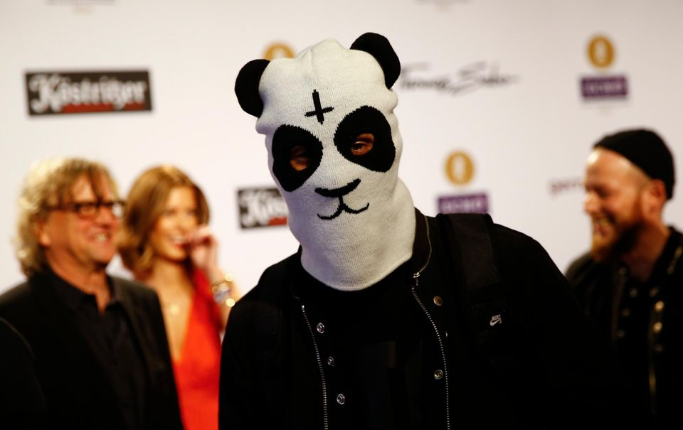 """Rapper Cro ist unter anderem für das """"Beste Video National"""" nominiert."""