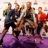 """Die Band """"voXXclub"""" freut sich über eine Nominierung in der Kategorie """"Volkstümliche Musik""""."""