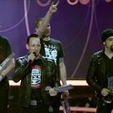 """Die dänische Band """"Volbeat"""" gewinnt in der Kategorie """"Gruppe Rock/Alternative International""""."""