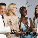 Matthew McConaughey, Cate Blanchett, Lupita Nyong'o und Jared Leto