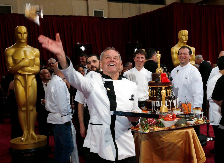 Star-Koch Wolfgang Puck präsentiert, was er den Stars nach der Oscar-Verleihung auftischen wird.