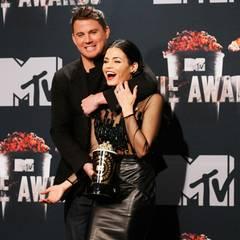 Channing Tatum mit seiner Frau Jenna Dewan