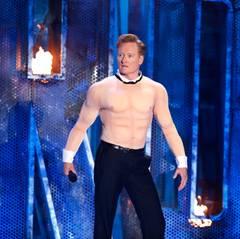Gastgeber Conan O'Brien