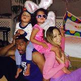 Mariah Carey und Nick Cannon feiern Ostern natürlich mit ihren Zwillingen Monroe und Moroccan.