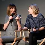 """Regisseurin Gia Coppola und Schauspielerin Emma Roberts diskutieren über ihren Film """"Palo Alto""""."""