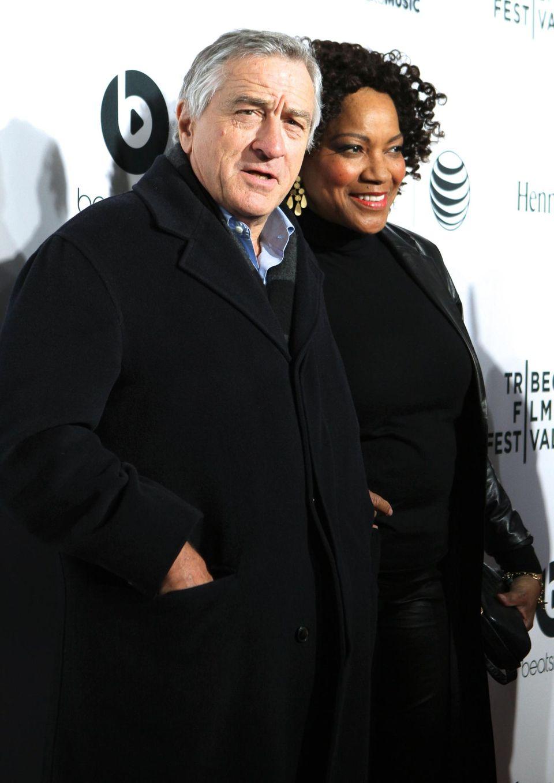 Robert De Niro bringt seine Frau Grace Hightower mit. Der Schauspieler hat das Filmfestival 2002 gegründet.