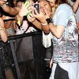 Jared Leto nimmt sich Zeit für seine Fans.