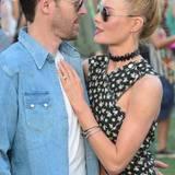 Kate Bosworth und ihr Mann Michael Polish haben nur Augen füreinander.