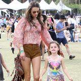 Alessandra Ambrosio hat ihre Tochter Anja mitgebracht.