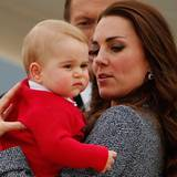 Prinz George steht sein zweiter langer Flug bevor.
