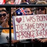 """Die Fans von Prinz George werden leider enttäuscht: Der kleine """"Prinz Charming"""" ist am Opernhaus von Sydney nicht mehr dabei."""