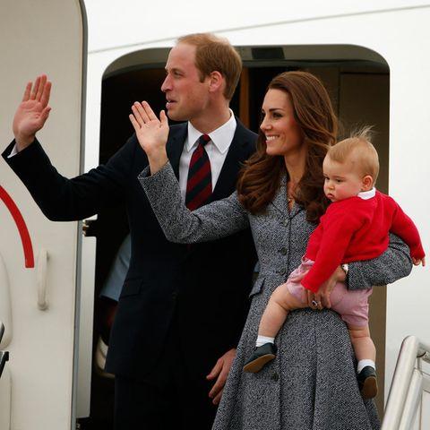 Die kleine Familie nimmt Abschied. Es geht zurück nach London.