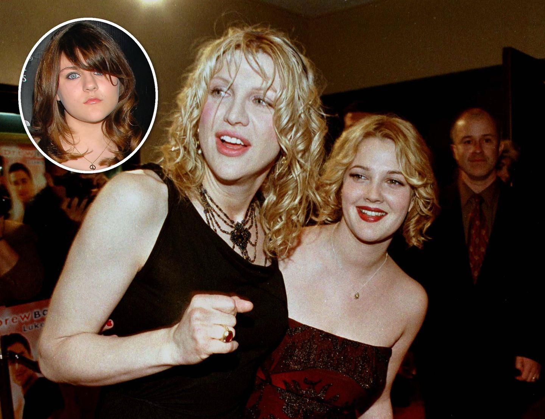 Drew Barrymore ist die Patentante von Courtney Loves und Kurt Cobains Tochter Frances Bean.