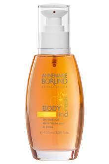 """Zieht schnell ein: """"Dry Body Oil Fresh"""" mit Jojoba. Von Annemarie Börlind, 100 ml, ca. 18 Euro"""