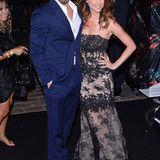 Kellan Lutz hat seine Freundin Jacqueline MacInnes auf dem Boot mit dabei .