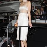 Elegant und freizügig: Topmodel Toni Garrn