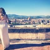 """Khloe überschreibt dieses Panoramabild von Florenz mit den Worten: """"Und sie lebten glücklich und zufrieden ..."""""""