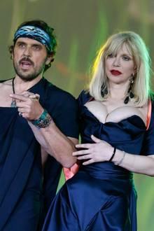 Andreas Kronthaler und Courtney Love