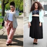 Übergrößen: Die 29-jährige Mia mit deutschen und marokkanischen Wurzeln hält auf infatstyle.de ihre schönsten Outfits und Events fest. Als ehemalige Bekleidungsmanagement-Studentin und Visagistin zaubert sie tolle Styles, die ihre Kurven in Szene setzen.
