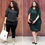 """Übergrößen: Der waschechten Pariserin Sakina von """"Saks in the City"""" liegt Stilgespür im Blut. Als Videobloggerin für die italienische Vogue shoppt sie sich durch Plus-Size-Geschäfte und zeigt, dass guter Stil rein gar nichts mit der Kleidergröße zu tun hat."""