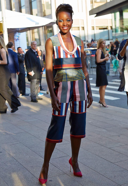 Farbenfroh: Lupita Nyong'o in Suno