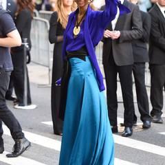 Fashion-Blues: Iman in Juan Carlos Obando