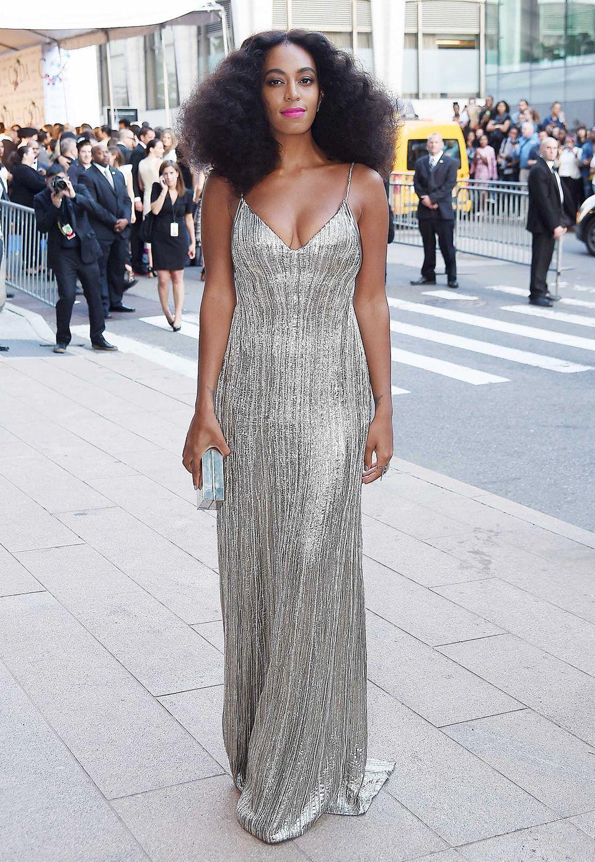 Glänzend: Solange Knowles in Calvin Klein Collection