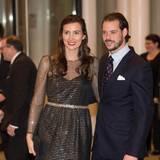 9. Januar 2016  Prinz Félix und Prinzessin Claire nehmen an einem Konzert in der Philharmonie teil, dass zu Ehren von Großherzog Jean gegeben wird. Der ehemalige Regent von Luxemburg feiert seinen 95. Geburtstag.