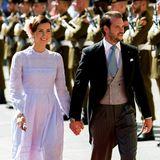 23. Juni 2016  Prinzessin Claire und Prinz Félix feiern mit der großzerzoglichen Familie den luxemburgischen Nationalfeiertag.