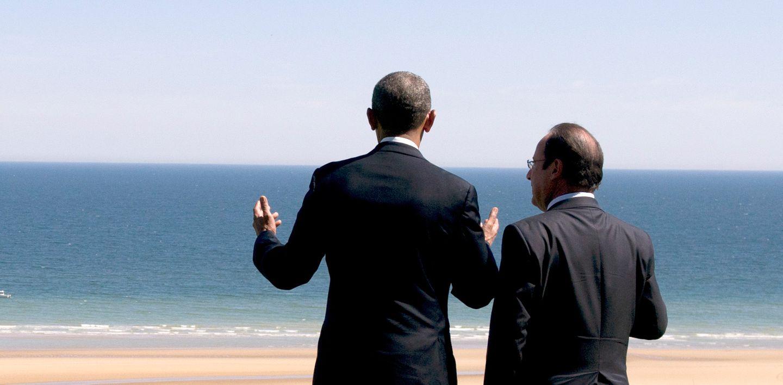 Barack Obama und Francois Hollande